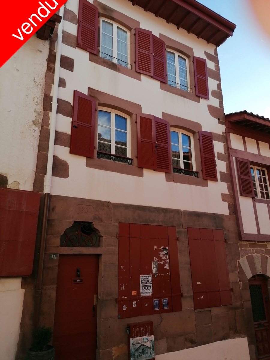 Vente Appartement Saint-Jean de Pied de Port